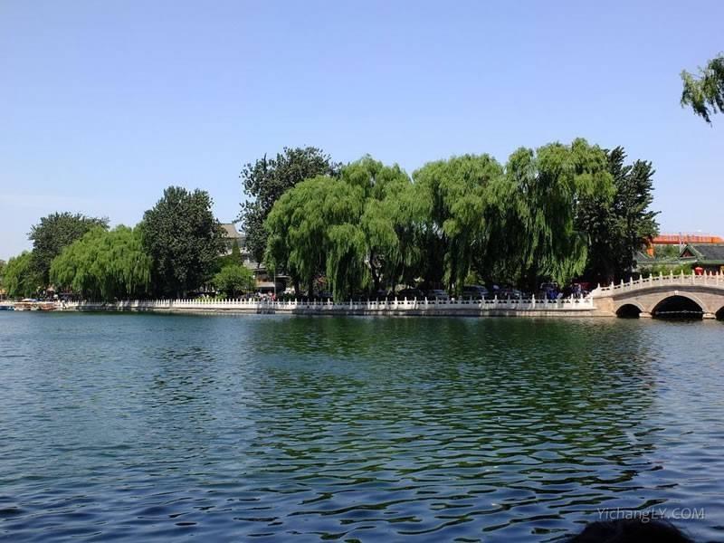 北京什刹海公园图片大全