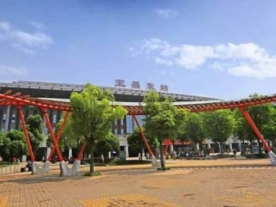 宜昌东站迎来暑运客流高峰