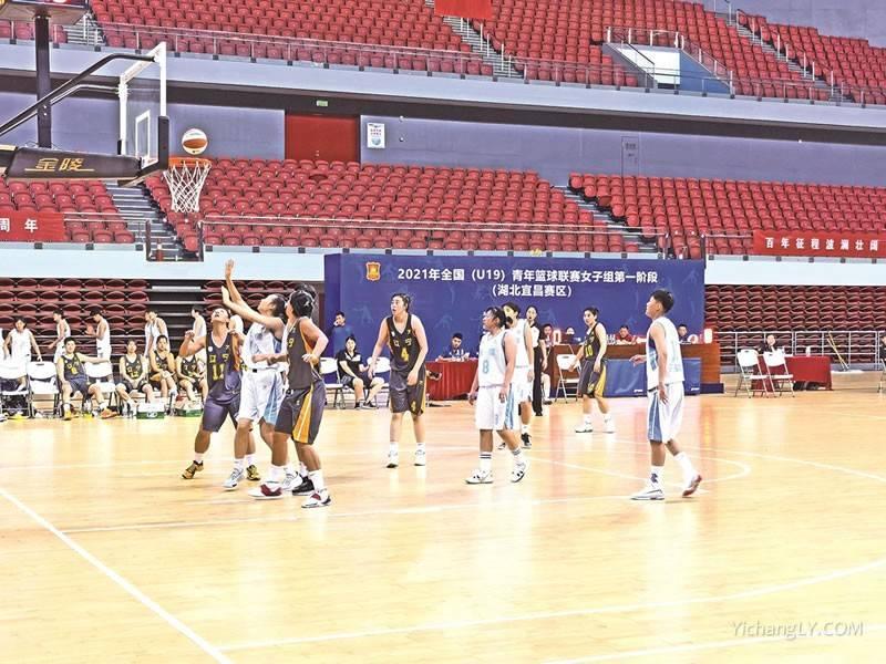 全国青年篮球联赛在宜举行