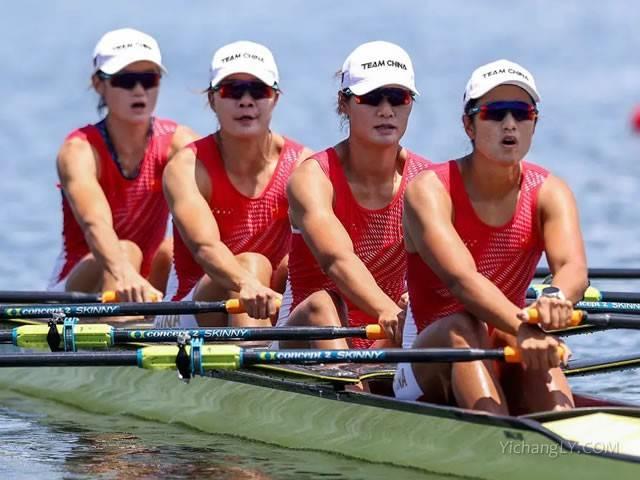 中国组合摘女子赛艇金牌