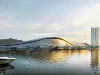 长江三峡游轮中心陆域工程开工